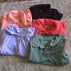 Lot of 5 preowned Boys polos